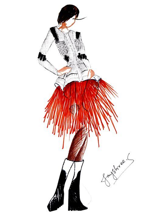 fashion illustration winter wear western fashion sketches wardrobe