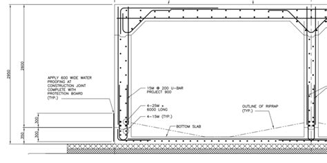 boxed layout definition slab culvert reinforcement details creative ideas about