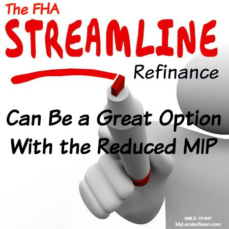 refinance out of fha fha mortgage insurance is going