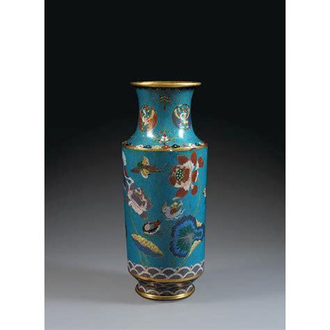 Grand Vase by Grand Vase Maillet En Bronze Dor 233 Et 233 Maux Cloisonn 233 S Polych