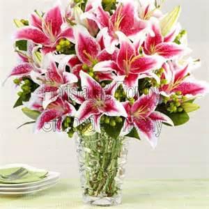Home Design Vendita Online mazzo di gigli consegna fiori online a domicilio