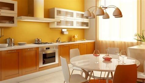 peinture cuisine meuble blanc design interieur cuisine vintage peinture murale jaune