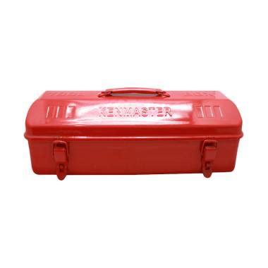 Tool Box Besi Prohex Kotak Perkakas jual kenmaster tool box 1 susun kotak penyimpanan perkakas merah harga kualitas