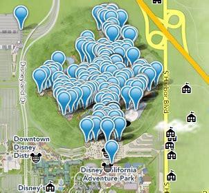 printable map  disneyland