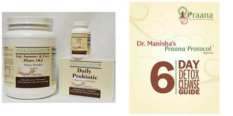 6 Day Detox Kit by Dr Manisha S Praana Protocol 174 Approved 6 Day Detox