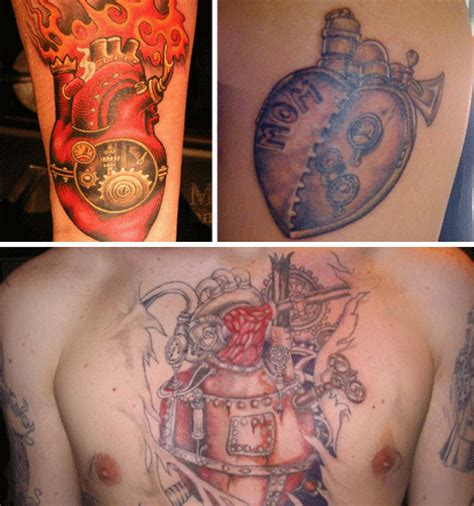 cogs and ink 28 cool steampunk tattoo designs that wow