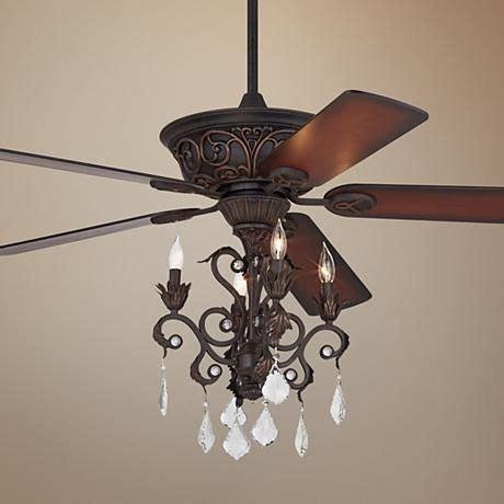 small chandelier ceiling fan casa contessa dark bronze chandelier ceiling fan style