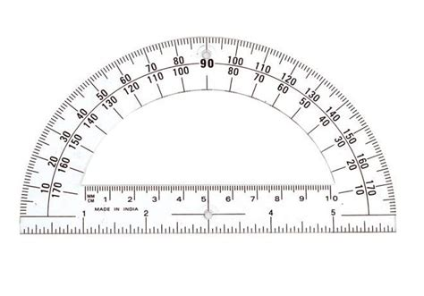 printable protractor with ruler 16 useful printable protractors kitty baby love
