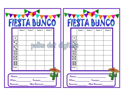 free bunco cards templates buy 2 get 1 free bunco score card sheet matching