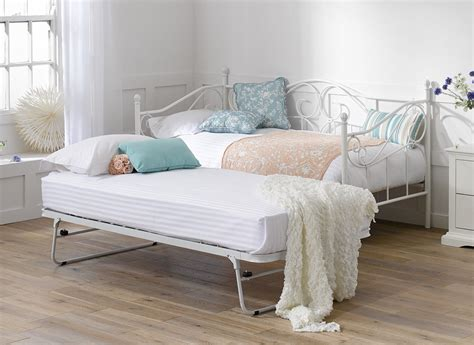 Bed With Trundle Underneath by Bed Trundle Ivory White