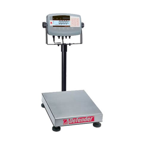 ohaus bench scale ohaus d71p15hr1 defender 7000 bench scale capacity 15kg