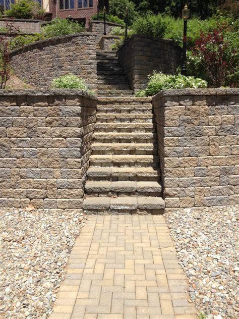 Pisa Retaining Wall Pisa Retaining Wall Steps Ma Traditional