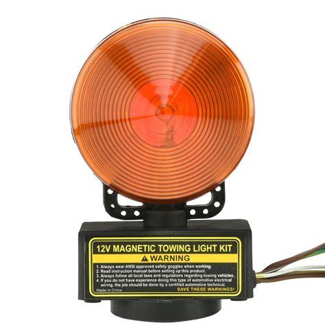 magnetic boat trailer lights magnetic trailer light kit 12v 3 in 1 tail brake signal