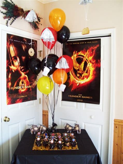 the hunger games themed bedroom hunger games party ideas