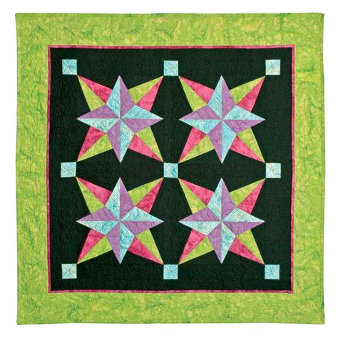 Blazing Quilt Pattern by Go Blazing By Eleanor Burns Sew Creative Cottage
