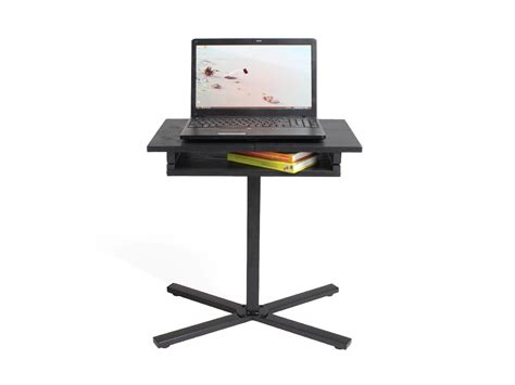 Large Laptop Desk Space Saving Bedside Adjustable Laptop Desk Table Food Tray Magazine Large Ebay