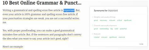 best website for grammar 9 best grammar and punctuation checker tools