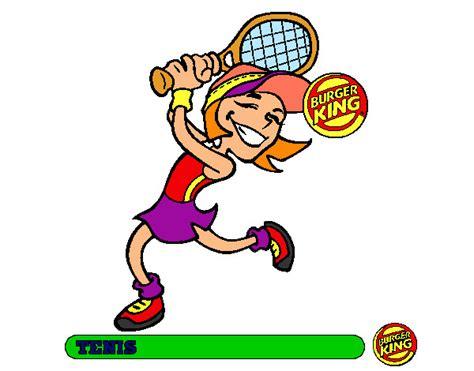 dibujos niños jugando tenis tenis dibujo imagui