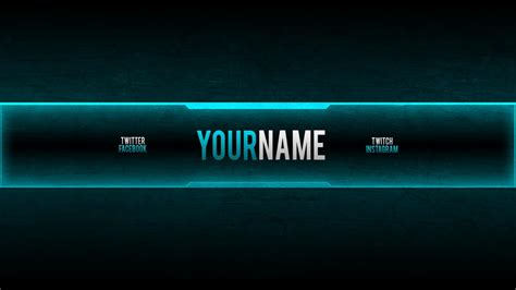 youtube channel banner maker best business template