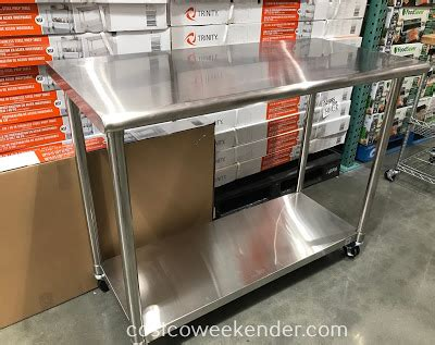 stainless steel prep table costco stainless steel prep table costco weekender