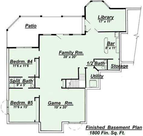 open floor plans with basement ranch style open floor plans with basement areas colored
