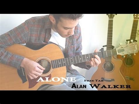alan walker guitar hero alone alan walker fingerstyle guitar cover solo free