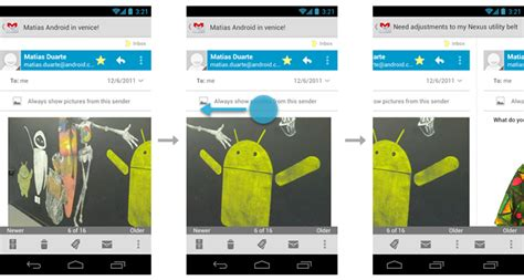 android swipe gesture swipe views android developers