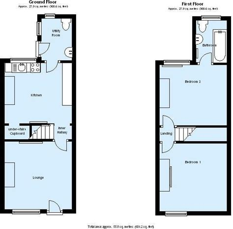 uk house floor plans uk terraced house floor plans escortsea