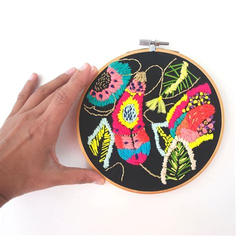 Biele Graphics | katy biele embroideries inspired by her illustrations