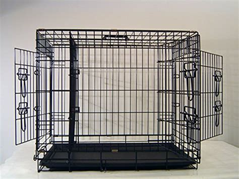 cheap large crates cheap everila large 48 three door new crate cage kennel with divider 35