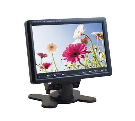 Tv Mobil 7 Inch 7 inch car tv monitor with usb tv tuner fm radio