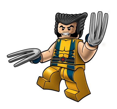 wolverine lego coloring page marvel lego packaging wolverine by robking21 on deviantart