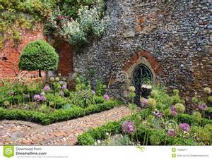 What Is A Walled Garden by An English Walled Garden Royalty Free Stock Photography