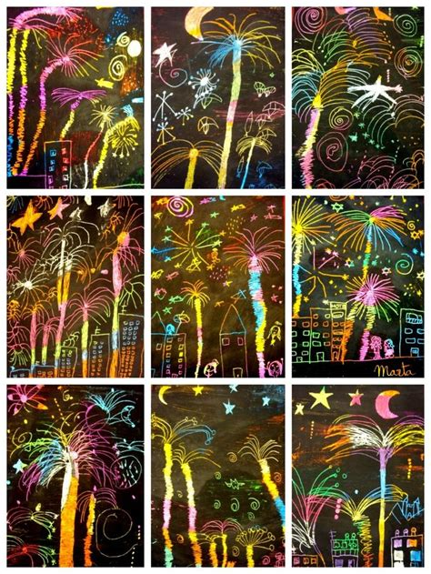 happy new year crafts 25 best ideas about fireworks on