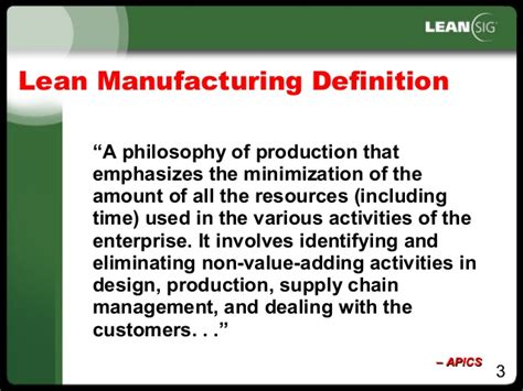 jit layout definition lean manufacturing overview