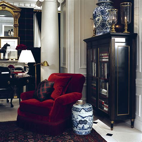 ralph lauren living room ralph lauren a lovely ralph lauren room with a plush red