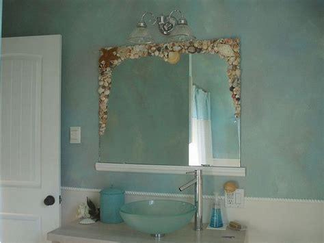 shell bathroom mirror best 25 seashell bathroom decor ideas on pinterest sea theme bathroom ocean