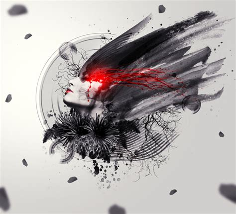 graphic design tutorial photoshop cs3 create the abstract photo manipulation imperfection