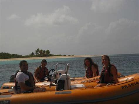 mini boat excursion fajardo mini boat snorkeling tour icacos island picture of