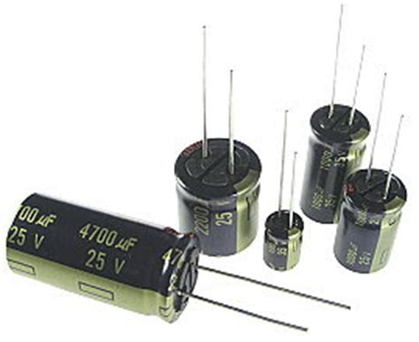 capacitor polarity indicator electronic circuit componnent data lesson and etc capacitors