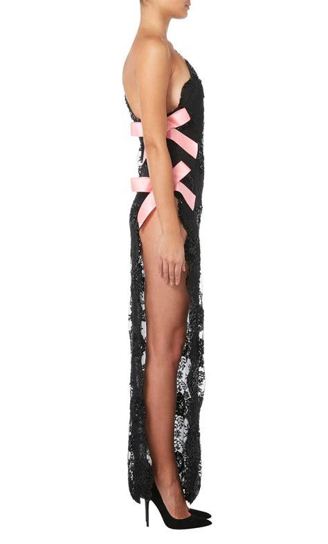 Ori Laurent Dress Atasan Coklat Pink yves laurent haute couture black dress summer 1990 for sale at 1stdibs