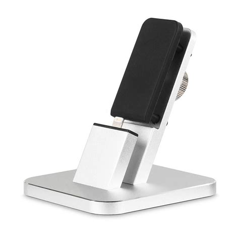 new metal smartphone desk charging dock holder stand for
