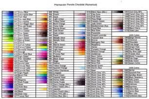 prismacolor pencils color chart 1000 images about prismacolor pencils on