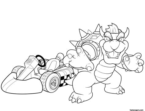 free coloring pages of mario world