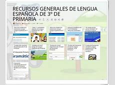 """11 RECURSOS GENERALES DE LENGUA ESPAÑOLA DE 3º DE ... Lenguas Générales"