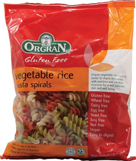 Orgran Vegetable Animal Pasta orgran vegetable rice pasta spirals gluten free 8 8 oz vegan food products options