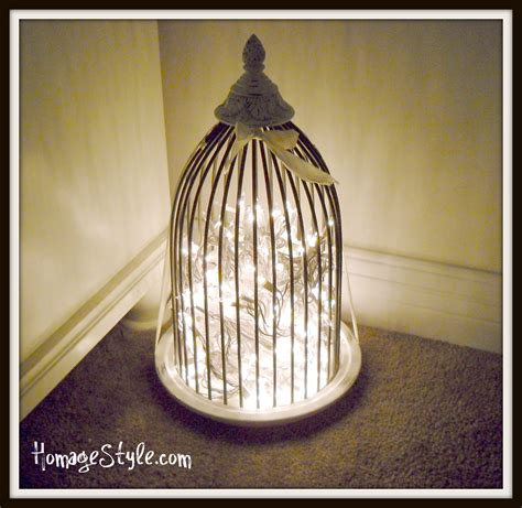 lights birdcage birdcage l