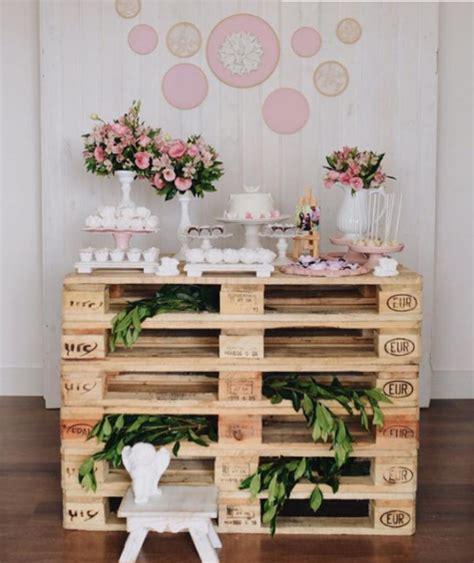 como decorar la mesa para el espiritu de la navidad 10 ideas para un bautizo con palets