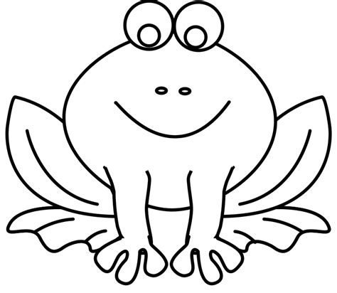 Frog Coloring Pages Coloring Ville Coloring Page Of A Frog