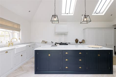 Kitchen Design Hertfordshire Modern Kitchen A Modern Spin On Shaker Style In This